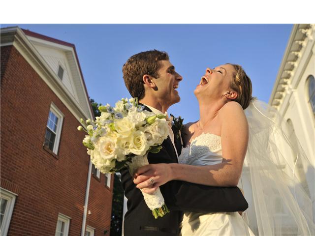 Clark wedding portrait